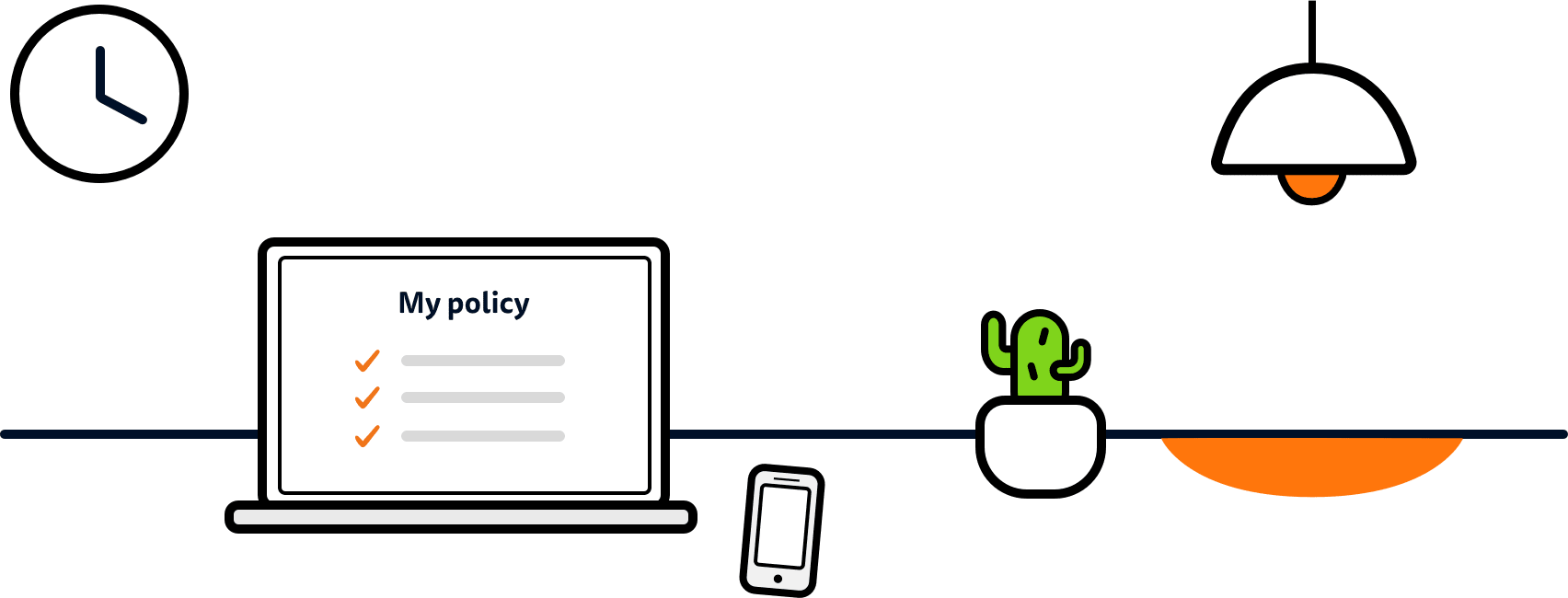 Manage your policy online